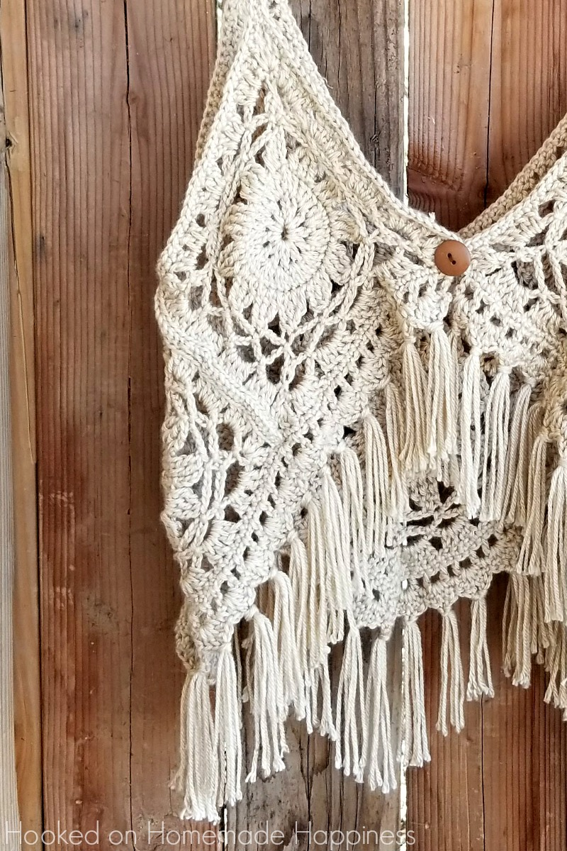 Crochet Boho Tank Top Hooked On Homemade Happiness
