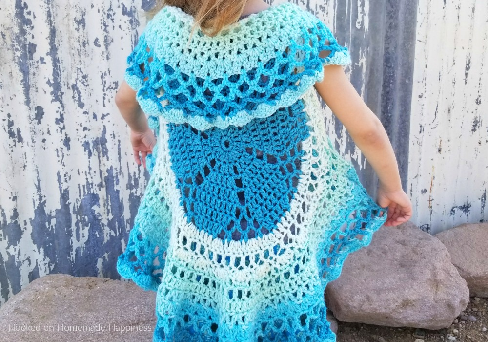 Crochet Circle Vest Hooked On Homemade Happiness