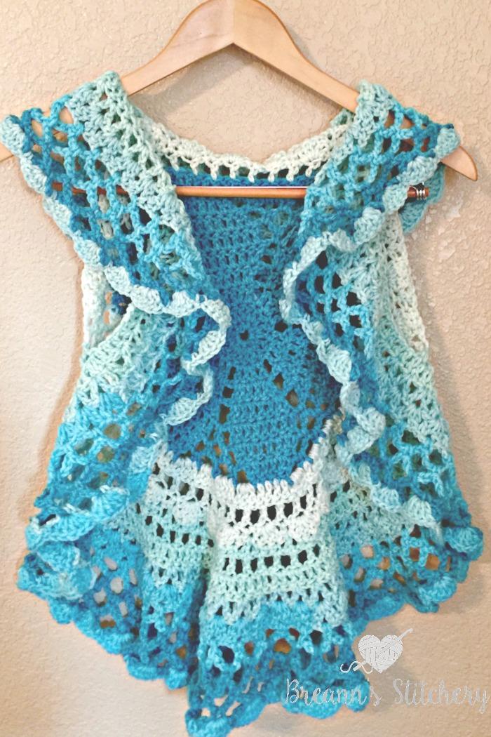 Crochet Circle Vest Pattern