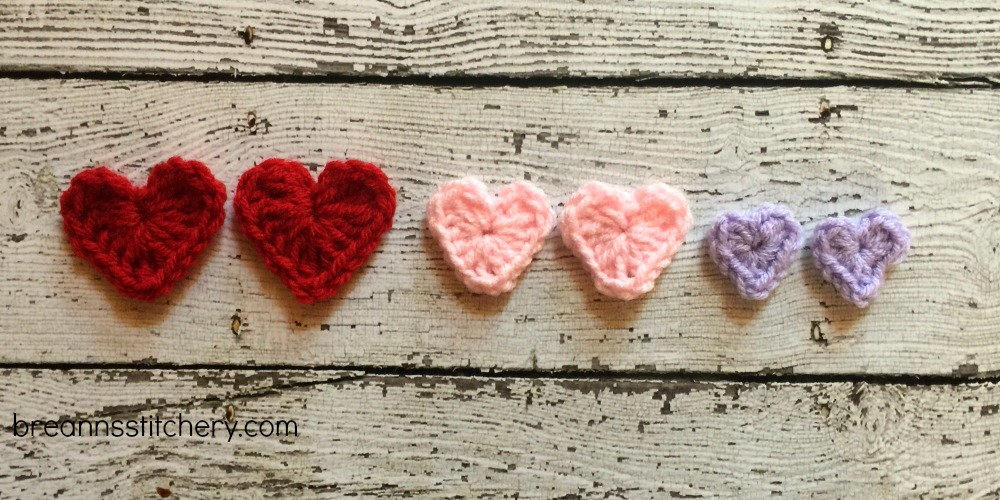 How to Crochet a Heart in 3 Sizes | Hooked on Homemade Happiness