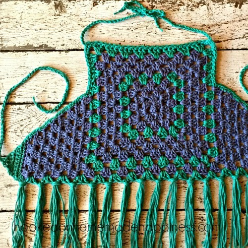 Granny Square Crochet Halter Top Hooked On Homemade Happiness