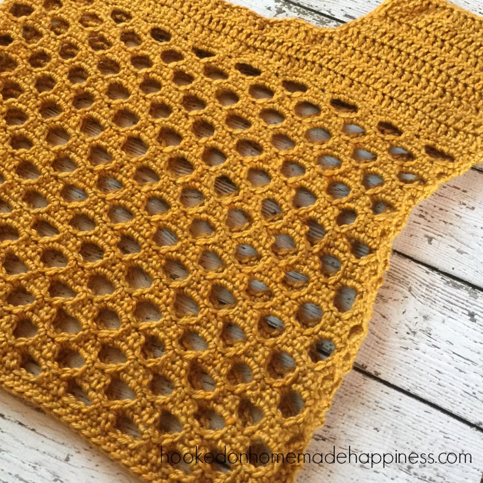 Honeycomb Crochet Top Hooked On Homemade Happiness
