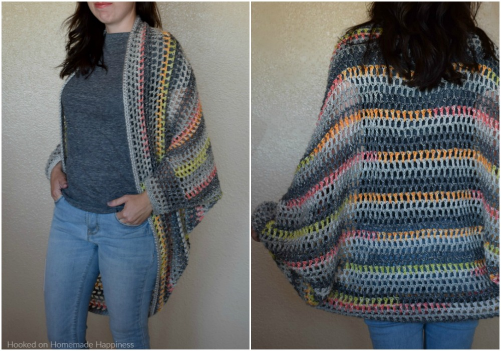 Urban Chic Cocoon Sweater Crochet Pattern