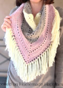 Piece of Cake Triangle Scarf
