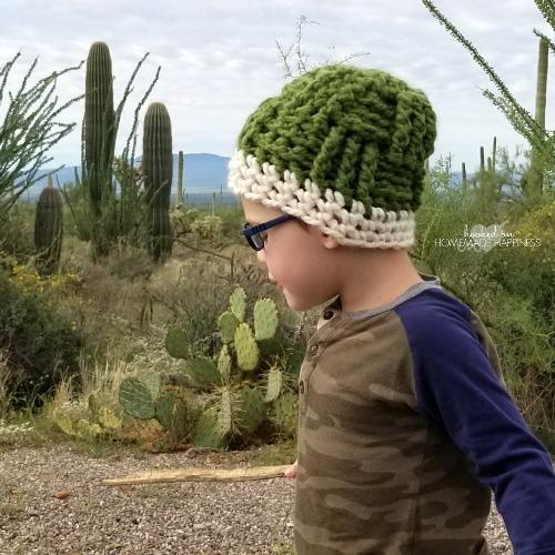 Basketweave Crochet Beanie Hooked On Homemade Happiness