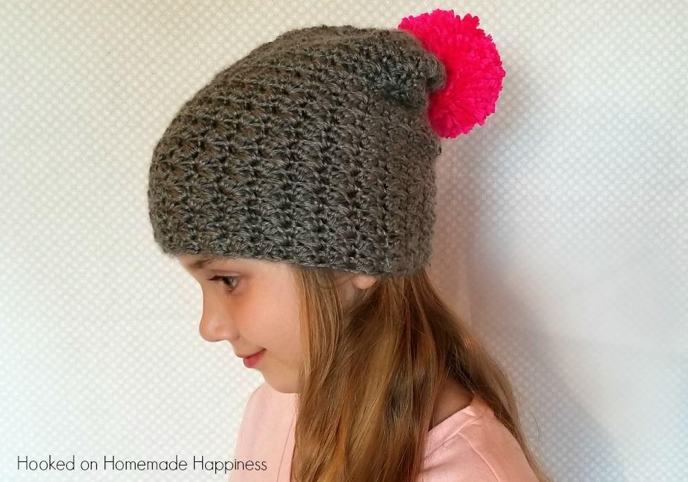 Charlotte Slouchy Beanie Crochet Pattern Hooked On Homemade Happiness