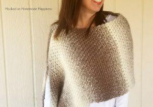 Desert Landscape Wrap Crochet Pattern