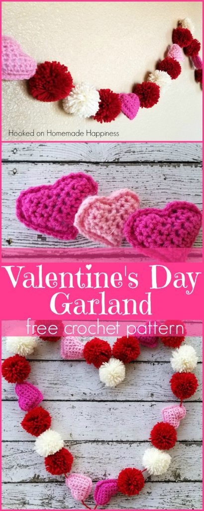 Valentine's Day Garland Crochet Pattern