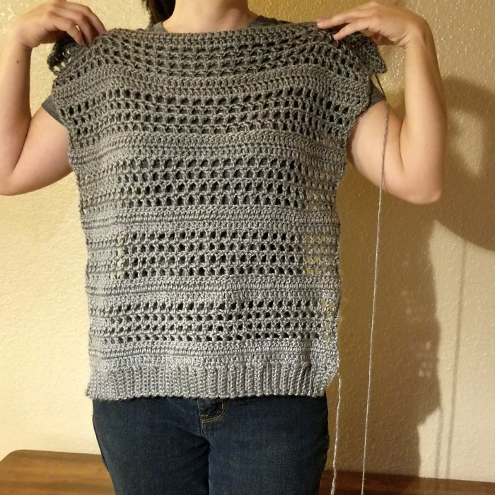 Simple Crochet Sweater Pattern Hooked On Homemade Happiness