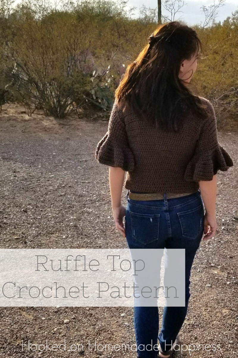 Ruffle Top Crochet Pattern