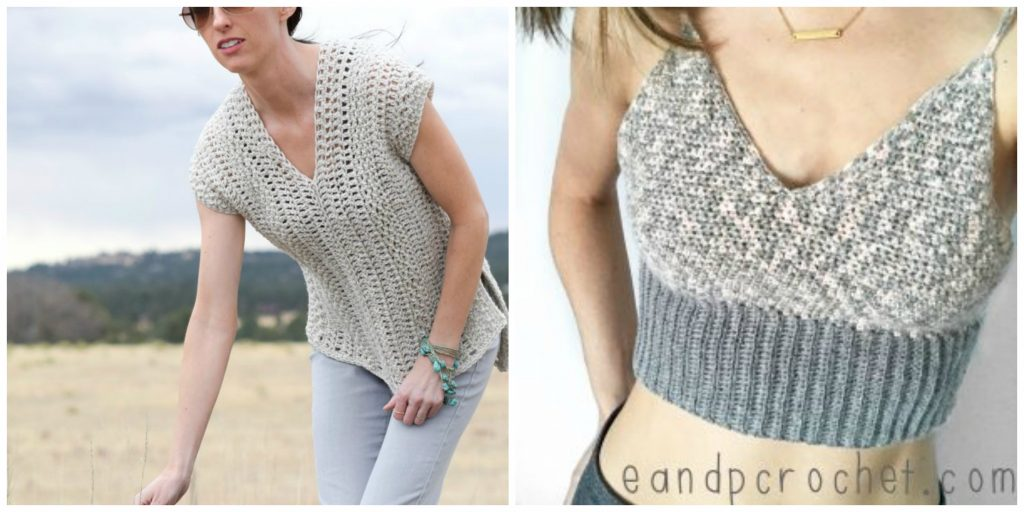 7da8a3736c2da7 The BEST Spring and Summer Crochet Top Patterns