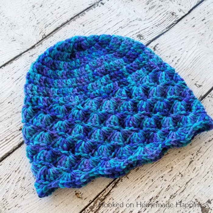 The Shell Beanie Crochet Pattern is the second pattern for the Crochet Along for a Cause! It's made to fit a child, but could easily be adjusted for an adult.The Shell Beanie Crochet Pattern is the second pattern for the Crochet Along for a Cause! It's made to fit a child, but could easily be adjusted for an adult.