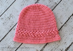 Strawberry Patch Crochet Hat Pattern - The Strawberry Patch Crochet Hat Pattern is the first pattern for the Crochet Along for a Cause! You can find all the CAL details HERE.