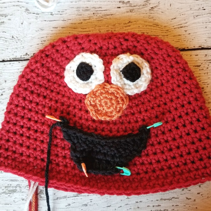 Elmo Crochet Beanie Pattern Crochet Along For A Cause Hooked On