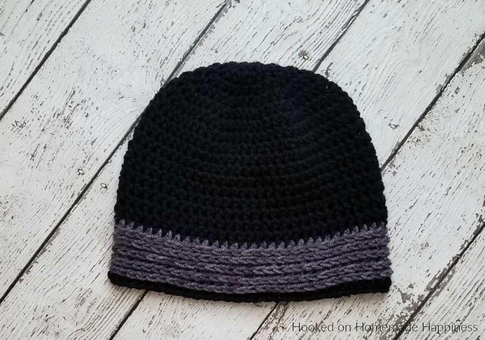 b43da5487 Easy All HDC Beanie Crochet Pattern (Crochet Along for a Cause ...