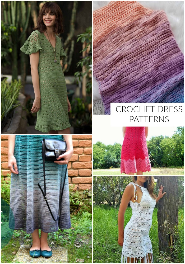 Crochet Dress Patterns Hooked On Homemade Happiness