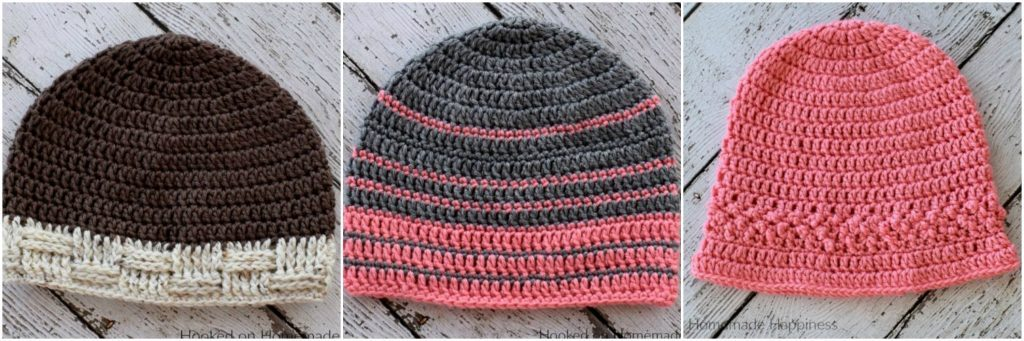 Textured Stripe Beanie Crochet Pattern Crochet Along For A Cause