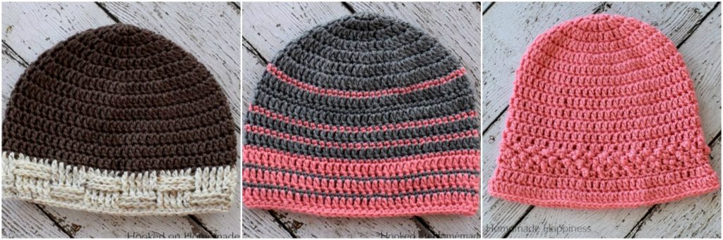Pinetop Beanie Crochet Pattern (Crochet Along for a Cause) | Hooked ...