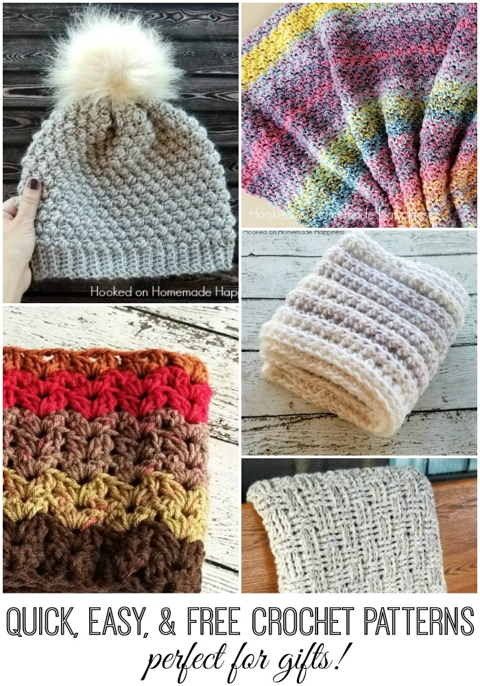 Quick Easy And Free Crochet Patterns Perfect For Gifts Hooked