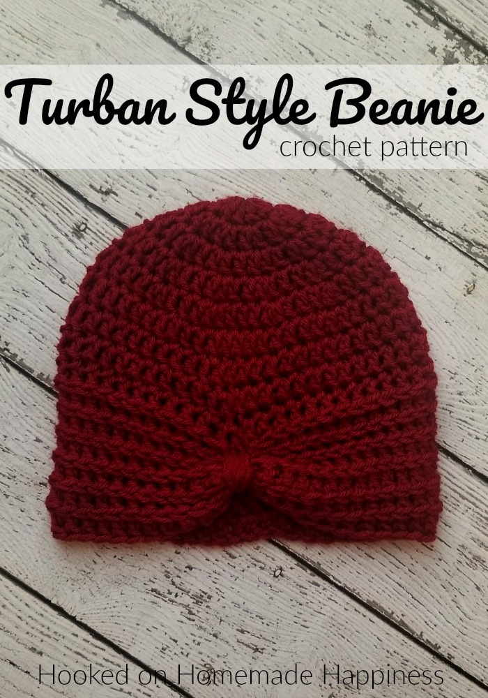 Turban Style Beanie Crochet Pattern Crochet Along For A Cause