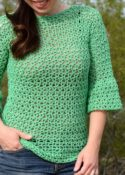 Spring Fling Crochet Top Pattern