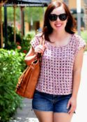Block Party Tee Crochet Pattern