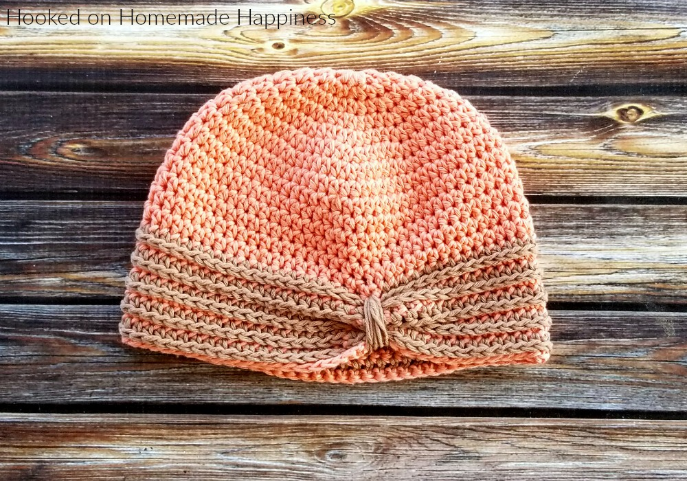 Kid's Turban Style Hat Crochet Pattern - The Kid's Turban Style Hat Crochet Pattern has adorable details that are so easy to create!