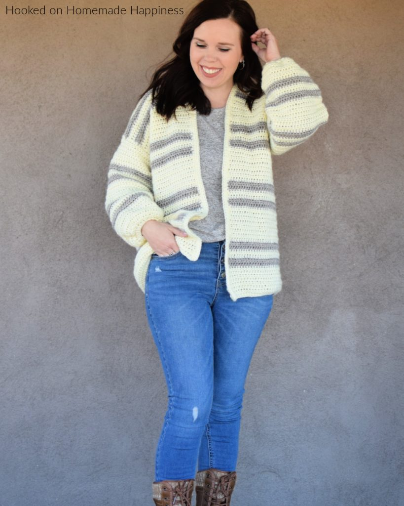 https://www.hookedonhomemadehappiness.com/casual-crochet-cardi-pattern/
