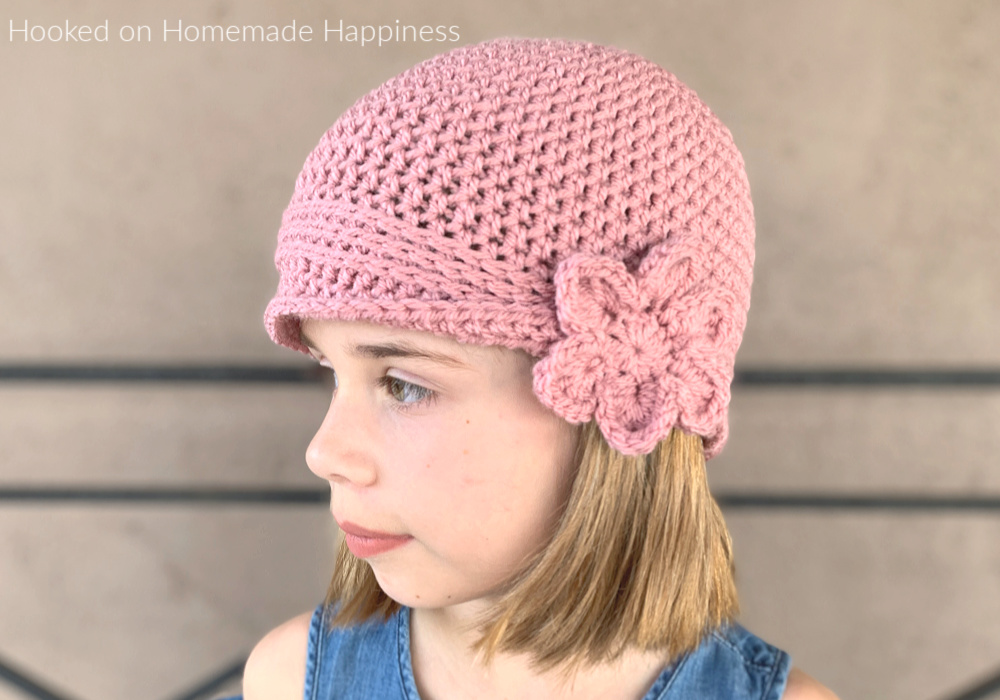 Kid's Vintage Hat Crochet Pattern - Kid's Vintage Hat Crochet Pattern