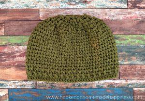 Evergreen Beanie Crochet Pattern - The Evergreen Beanie Crochet Pattern uses front post double crochet and back post double crochet to create this fun texture!