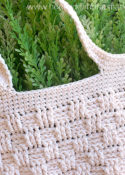Basketweave Market Bag Crochet Pattern