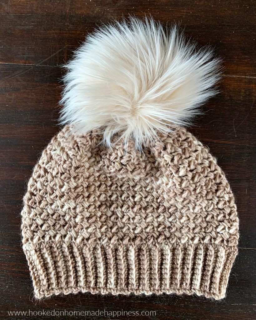Elizabeth Beanie Crochet Pattern - The Elizabeth Beanie Crochet Pattern has this soft & beautiful stitch design. It has such a pretty and feminine look to it.