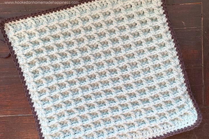 Waffle Crochet Stitch