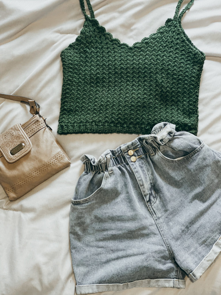 Eucalyptus Crop Crochet Pattern - . I have been able to follow my creative interests down many winding roads and most recently had the opportunity to design my perfect summer crop top, the Eucalyptus Crop.