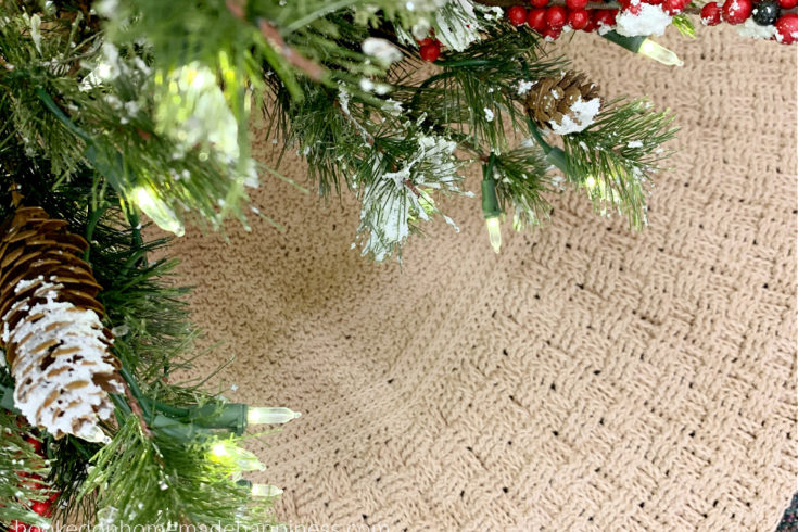 Country Christmas Tree Skirt Crochet Pattern - Country Christmas Tree Skirt Crochet Pattern